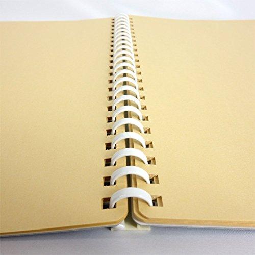 コクヨファイルスクラップブックB替紙式A4青ラ-20BZ