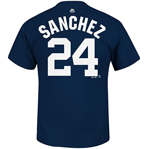 Gary Sanchez New York Yankees Youth Navy Name and Number Player T-Shirt Large 14-16