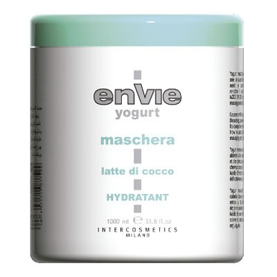 Mascarilla crema de yogurt con leche de coco 1000ml. Envie