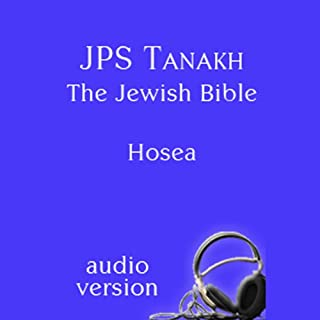 The Book of Hosea: The JPS Audio Version cover art