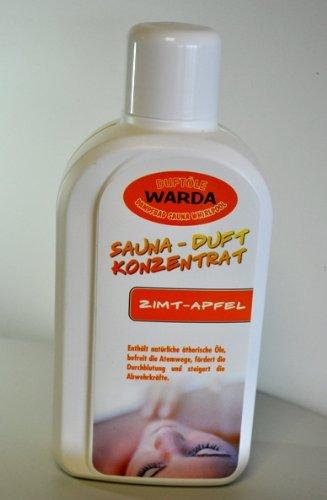 Warda Aufguß Zimt Apfel 1l für Sauna, Konzentrat, Saunaaufguss