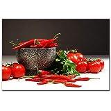 Tomaten Und Paprika Wandkunst Leinwanddrucke Realistische