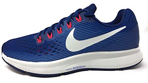 Nike Womens Air Zoom Pegasus 34 Running Shoe (Blue Void/Ghost Aqua, Size 7 US)