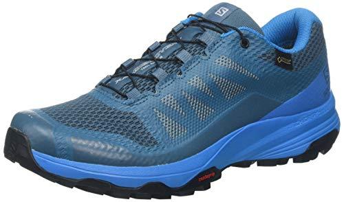 Salomon Damen XA Discovery GTX W, Trailrunning-Schuhe, Wasserdicht, blau (mallard blue / hawaiian surf / bluestone), Größe 41 1/3