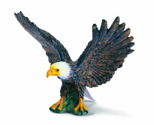 SCHLEICH 16707  - Wild Life, Weißkopfseeadler,landend