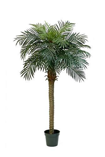 artplants.de Künstliche Phönix Palme, 28 Palmwedel, 180cm - Dekopalme - Kunst Palme