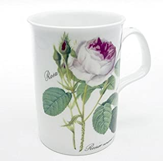 Roy Kirkham Lancaster Redoute Rose Mug - One Mug Only