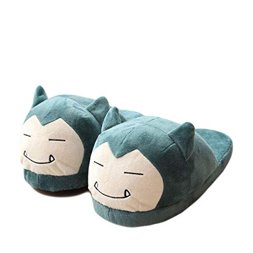 Pokemon Snorlax Slippers Ronflex Relaxo Chaussons Soft Toy ...