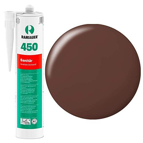 Ramsauer 450 1K Silikon Dichtstoff 310ml Kartusche (Braun)