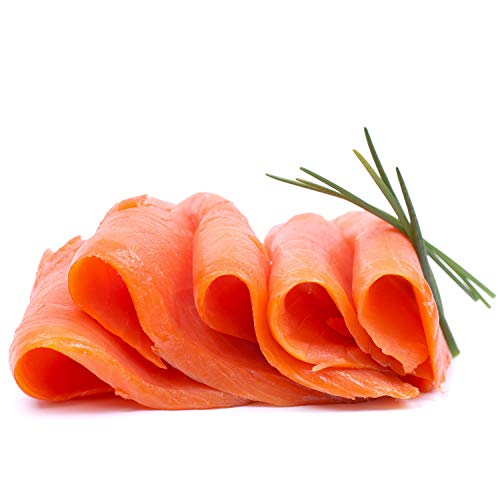 Marky's Scottish Smoked Salmon - 2 to 3 pounds - Pre Sliced Skin Off