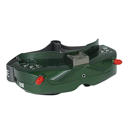 Skyzone SKY02C 5.8G 48CH 3D True Diversity FPV Goggles with Head Tracker and Built-in Fan Support DVR HDMI for FPV Racing Drones Green
