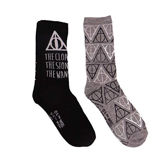 Harry Potter Socken für Erwachsene, Motiv Heiligtümer des Todes, 2 Stück