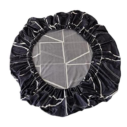 Naisicatar Hoja Cama Ajustada Lavable Transpirable Hoja Ajustada Cómodo Protector Colchón 120x200cm Estilo 3