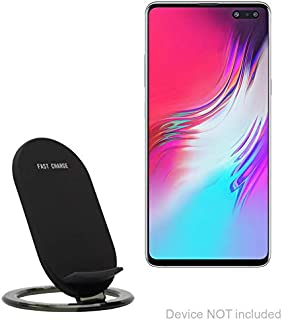 Samsung Galaxy S10 5G Charger, BoxWave [Wireless QuickCharge Stand] No Cord; no Problem! Charge Your Phone with Ease! for Samsung Galaxy S10 5G - Jet Black