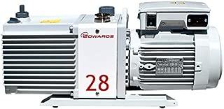 Across International E2M28 Edwards Dual Stage High Capacity Vacuum Pump, 21 cfm, 110/220V, 50/60 Hz