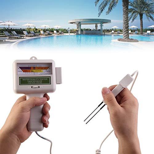 Wassertestgerät ,Acogedor Portable PH-Tester, Chlor-Füllstandmessgerät für Pool, Spa, Schwimmbad Schwimmbecken und Whirlpools PH102 Chlor CL1