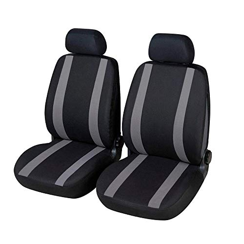 Fundas para asientos delanteros Voyager versión (2011-2015) compatibles con asientos con airbag, co