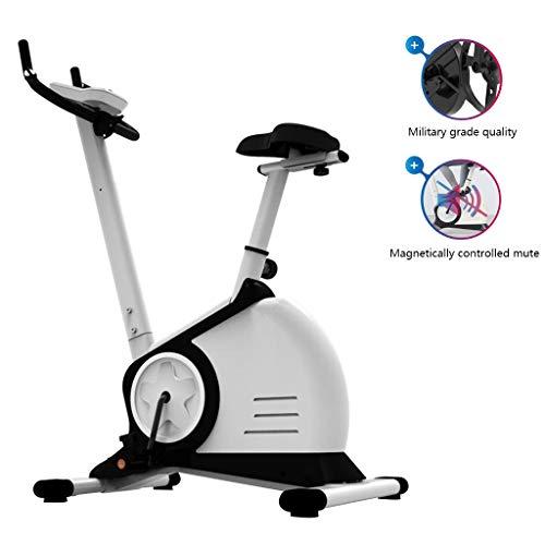 Bicicleta Estática Paso A Paso Bicicleta Silenciosa Paso A Paso Equipo De Ejercicio Paso A Paso con Control Magnético De Interior Se Puede Medir La Frecuencia Cardíaca