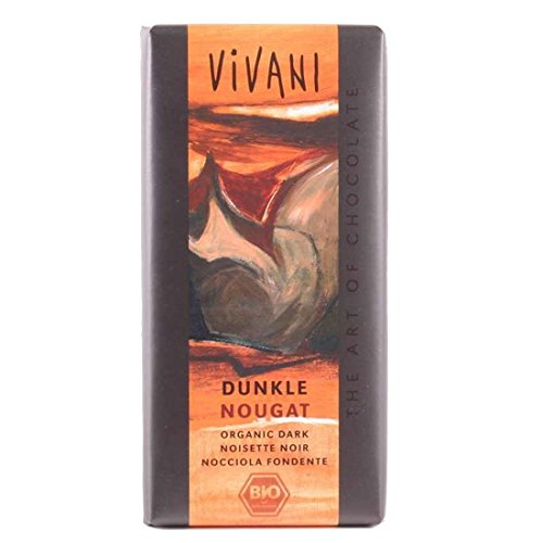 Vivani - Dunkle Nougat Schokolade - 100g, bio