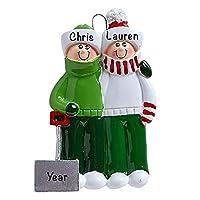 スノーシャベルファミリーペンダントパーソナライズされたクリスマスオーナメントキットクリスマスツリーデコレーションDiyBlessing Pendant
