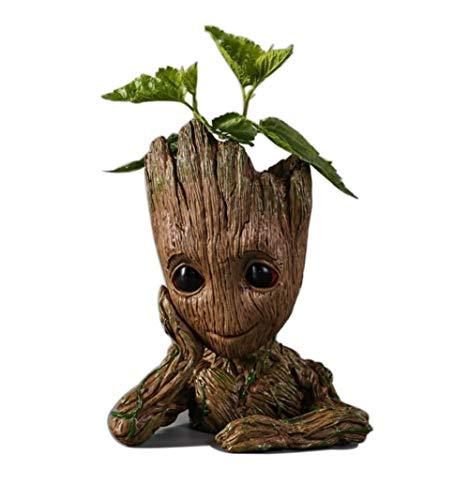 Guardians of The Galaxy Action Figures Baby Model Pen Holder Flowerpot Best Gift 6.3'