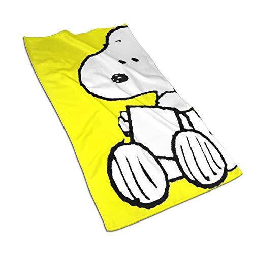 Aoyutiy Handtücher - Snoopys Peanuts Weiches und saugfähiges Luxushandtuch 27,5 'x 17,5'