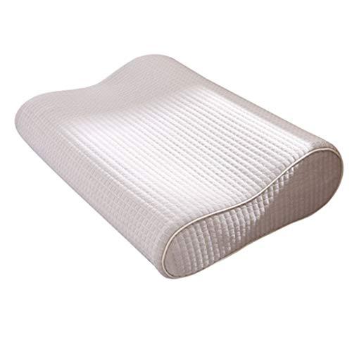 Almohada de espuma viscoelástica,cuidado de la salud de la columna cervical para adultos,ayuda para dormir,espacio único,almohada de espuma viscoelástica para dormir (incluida la funda de almohada)