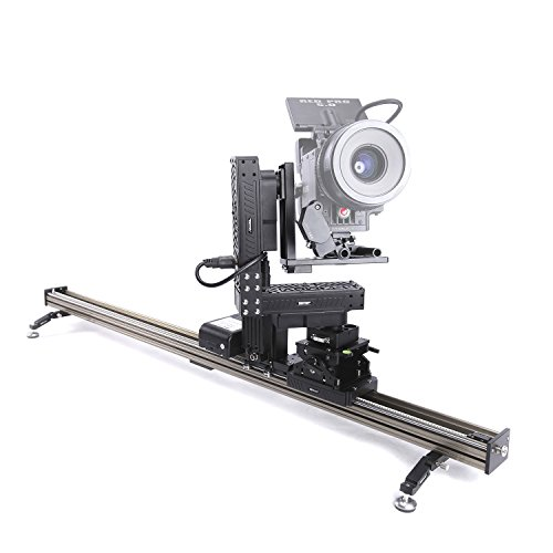 asxmov-g4Wired Control 130cm 4Axis cámara Track Slider estabilizador de vídeo ferrocarril con cable controlador fotografía motorizado Timelapse Slider para DSLR Cámara de vídeo videocámara