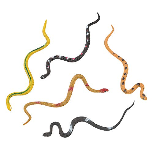 Realistic Snakes (4dz) - Toys - Character Toys - Action Figures - 48 Pieces