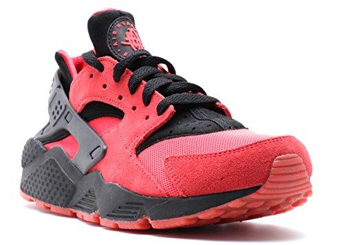 Nike Air Huarache QS Love Pack für Herren, Rot / Schwarz, Größe 40