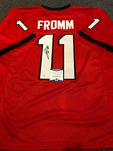 Jake Fromm Autographed Signed Georgia Bulldogs Signed Jersey Beckett COA