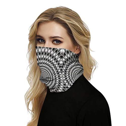 Print carnaval 3D sjaal Naadloze bandana's Multifunctionele hoofdbanden Bivakmuts Sjaal Headwrap Neckwarmer Neck Gaiter voor stof, buitenshuis, kamperen, hardlopen Zonnebrandcrème slabbetje 1 stuks