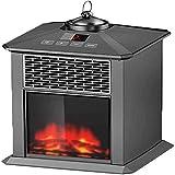 SKYHY224 Calentador eléctrico Calentadores de Exterior para el hogar y Calentadores de Patio para chimeneas.