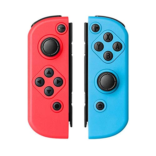 Par de mandos Joy-con juego de dos Joy-con para Switch Joy-con compatible con empuñadura somatosensorial Joy Switch Joy Bluetooth
