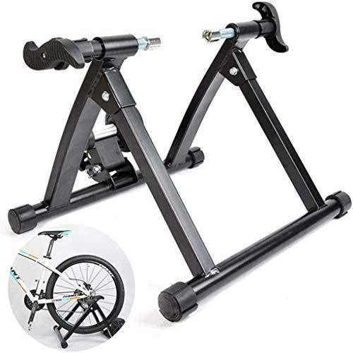 woyaochudan Entrenador Inteligente para Ciclismo Familiar en Interiores, Rodillos de Bicicleta con Ajuste de Resistencia Resistente y Duradero