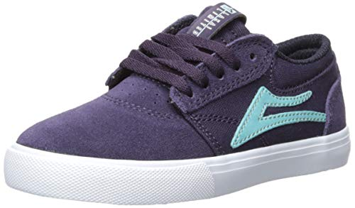 Lakai Men's Griffin Kids, Eggplant Suede, 11 M US