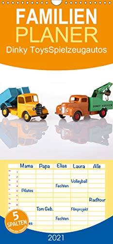 Dinky Toys Spielzeugautos - Familienplaner hoch (Wandkalender 2021, 21 cm x 45 cm, hoch)