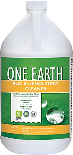 One Earth OCG4G Rug and Upholstery Cleaner, Fragrance Free, WoolSafe, Eco-Friendly, Concentrate (4 Pk)