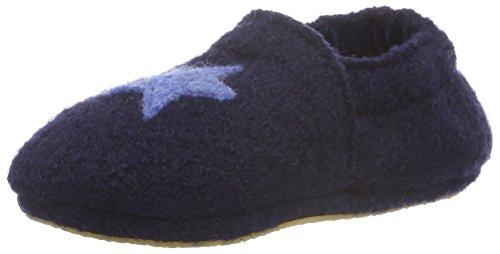 Nanga Baby Baby-Hausschuh Sternchen dunkelblau 22