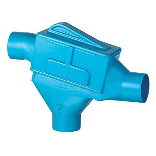 Regenwasserfilter 3P Zisternenfilter ZF mit Edelstahlsieb für den Einbau in die Zisterne, Anschluss DN100, Höhenversatz 117mm. Für die Regenwassernutzung im Haus und Garten.