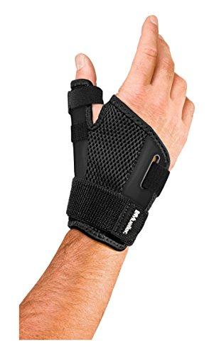 Mueller Sports Medicine Reversible Thumb Stabilizer, Black, One Size