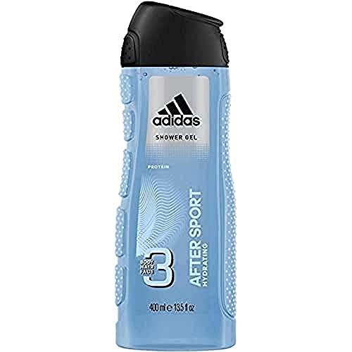 Adidas After Sport Gel de ducha para Hombre - 400 ml.