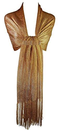 GFM disegno maglia scintillante scintillare sciarpa
