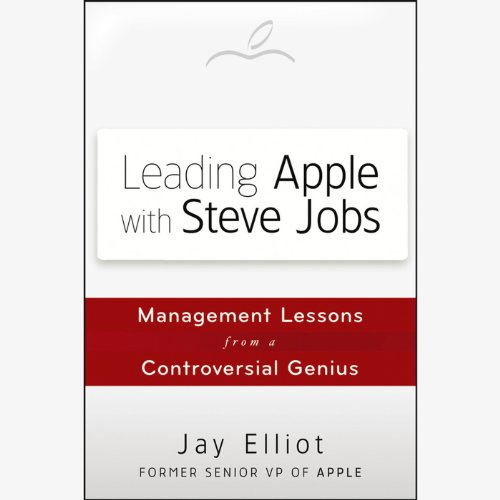 Leading Apple with Steve Jobs audiobook cover art