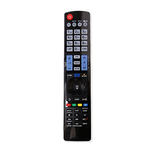 AKB73615306 Replace Remote Applicable for LG TV 55LD520C 26LD350 55LE5500 42LE5500 55LE8500 42LD520 52LD550UB 32LD550UB 42LD550UB 42LE5350 46LD550UB 52LD550 55LD650 55LD650UA 60LD550 50PT350 42PJ350
