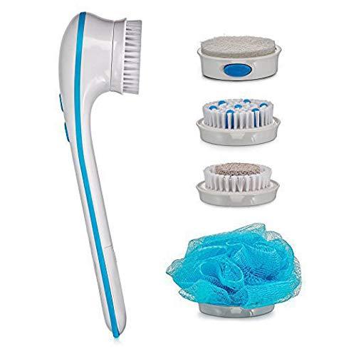 Volver máquina de afeitar cepillo de ducha de lavado, para señoras y...