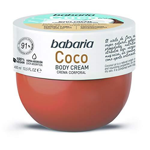 Babaria Crema Corporal Hidratante Coco 400ml