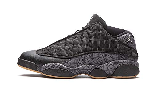Nike Air Jordan 13 Retro Low Q54, Scarpe da Basket Uomo, Multicolore (Negro/Gris/Blanco...