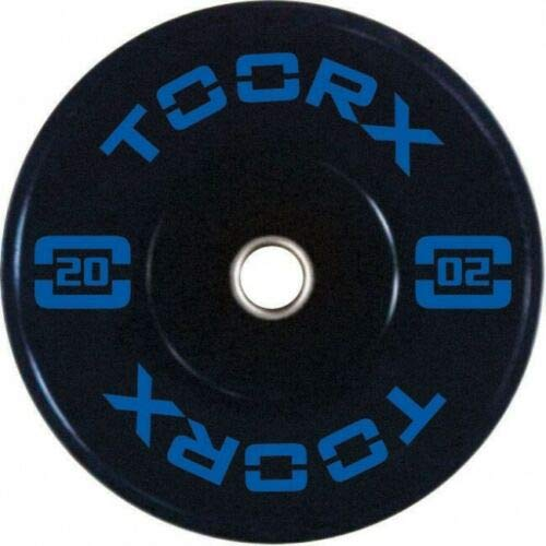Toorx Disco Olimpico Bumper Training da 20 kg - Foro 50 mm