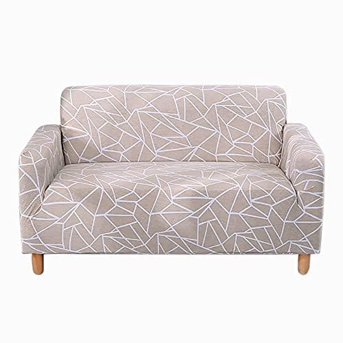 Juego de Fundas de sofá Funda de sofá Funda de sofá elástica para Sala de Estar Pida 2 Piezas para Adaptarse al sofá Chaise Longue en Forma de L A11 de 4 plazas